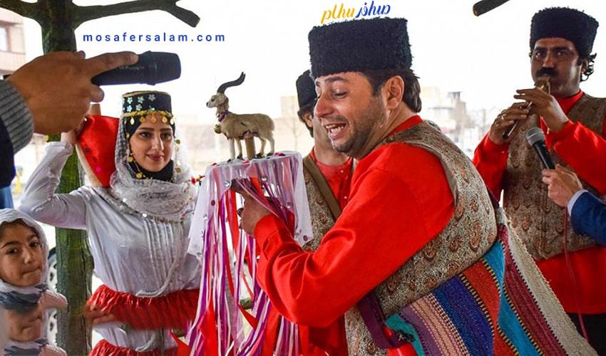 بازی های نوروزی کرمانشاه