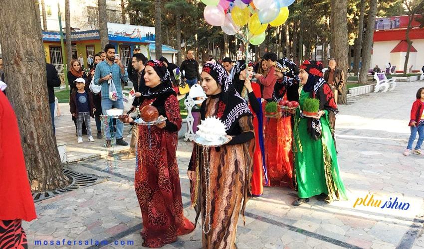 عیدانه در کرمانشاه | نوروز