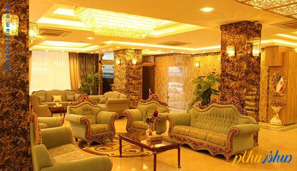 لابی هتل عقیق مشهد
