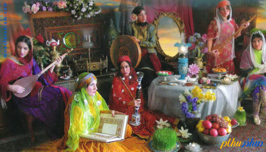 آداب و رسوم نوروز در گذشته