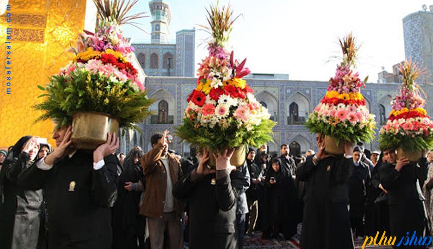 نیمه شعبان در مشهد