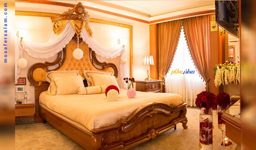 هتل قصر طلایی مشهد | اتاق پرنسس هتل قصر طلایی