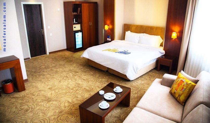 اتاق های هتل رفاه