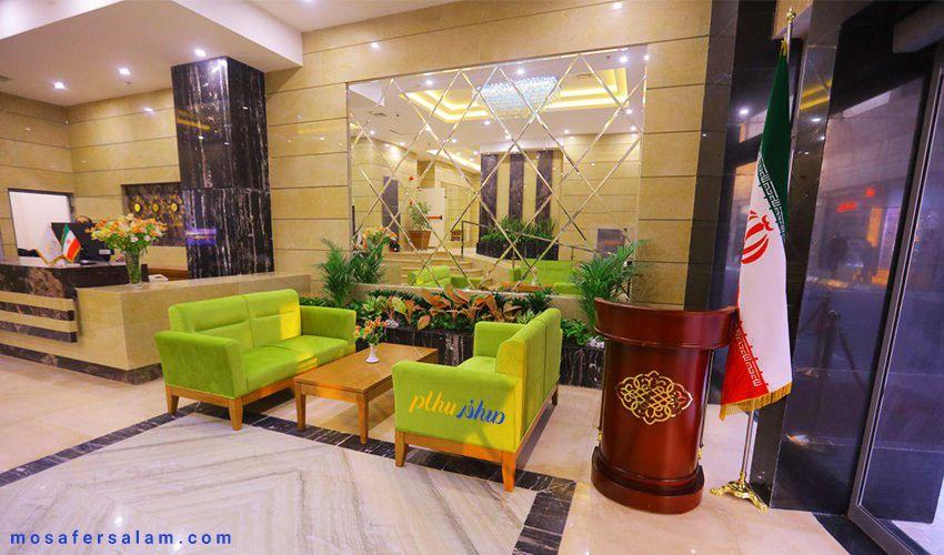 هتل شکوه ایمان مشهد