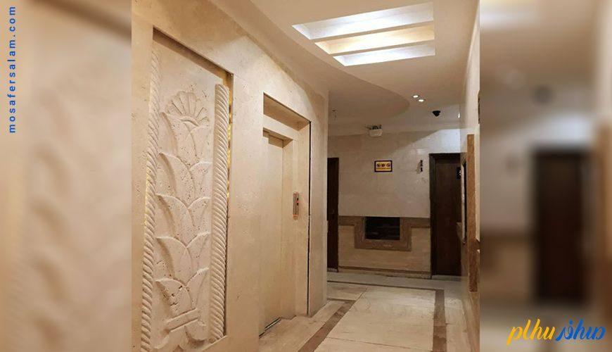 راهرو هتل آرسان مشهد