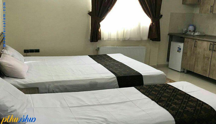 اتاق هتل آرسان مشهد