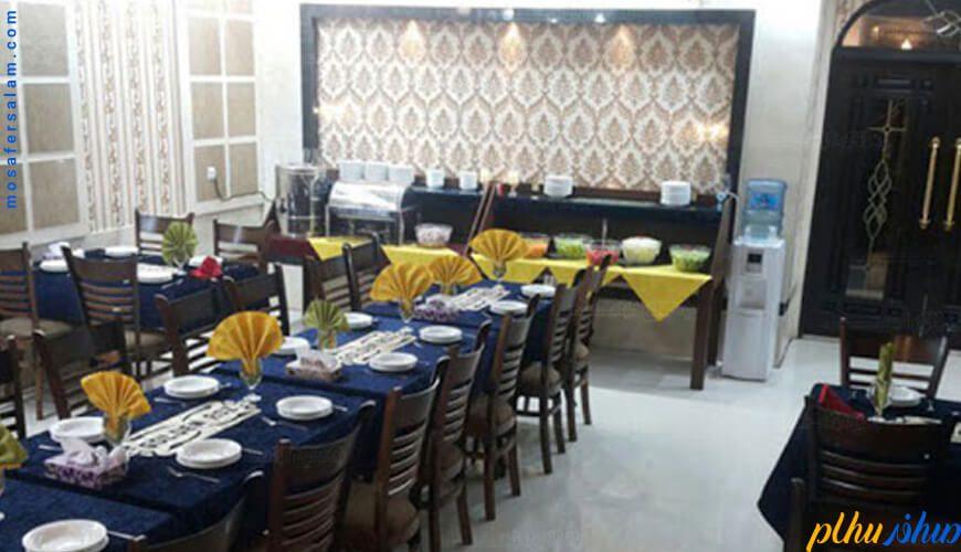 رستوران هتل رز طلایی مشهد