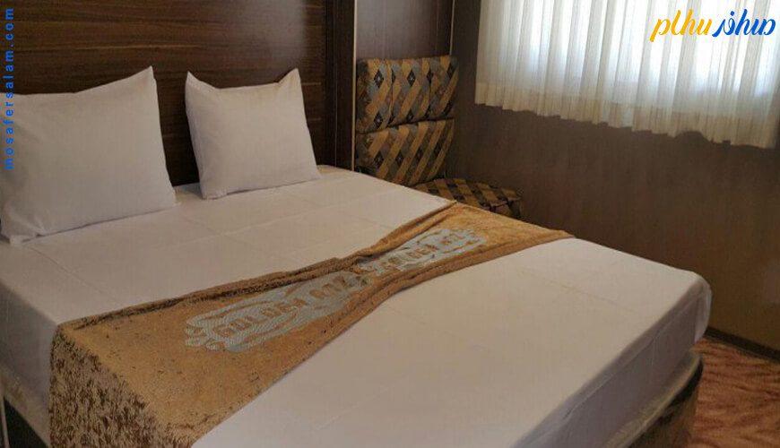 اتاق هتل رز طلایی مشهد