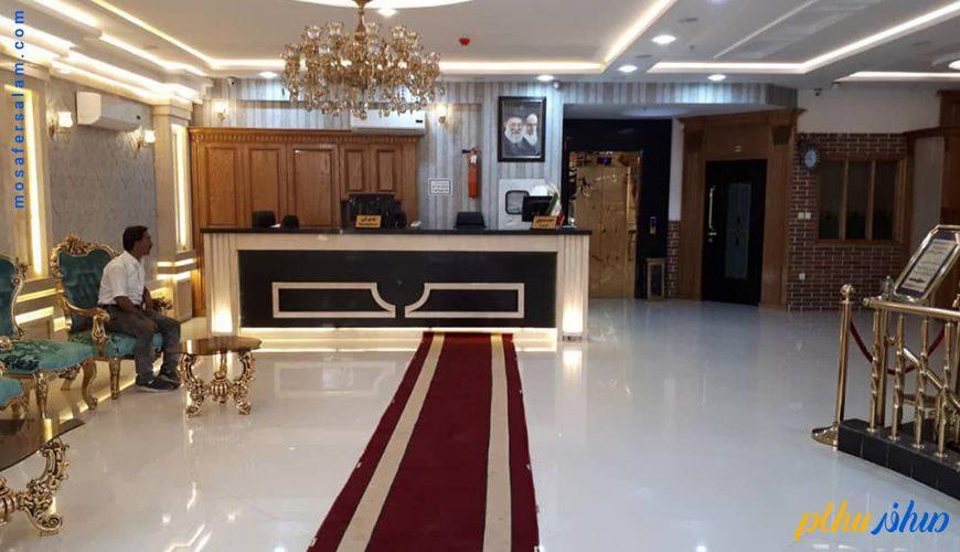 لابی هتل رز طلایی مشهد