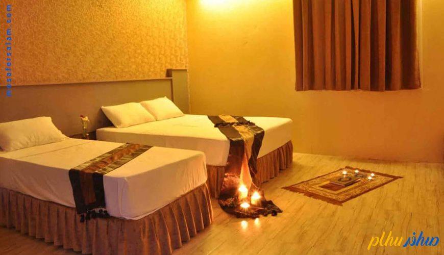 اتاق عروس و داماد هتل بسطامی مشهد