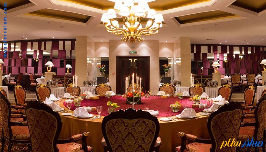 بهترین رستوران های هتل های مشهد