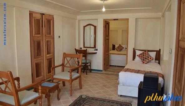 اتاق هتل سنتی فلاحتی کاشان