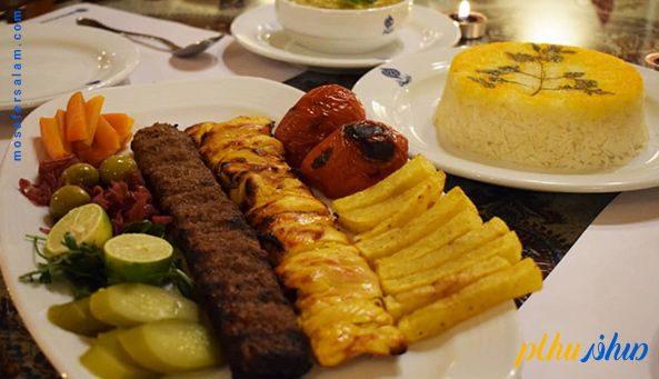 رستوران هتل سنتی فلاحتی کاشان