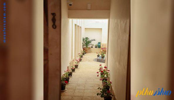 راهرو هتل سنتی فلاحتی کاشان