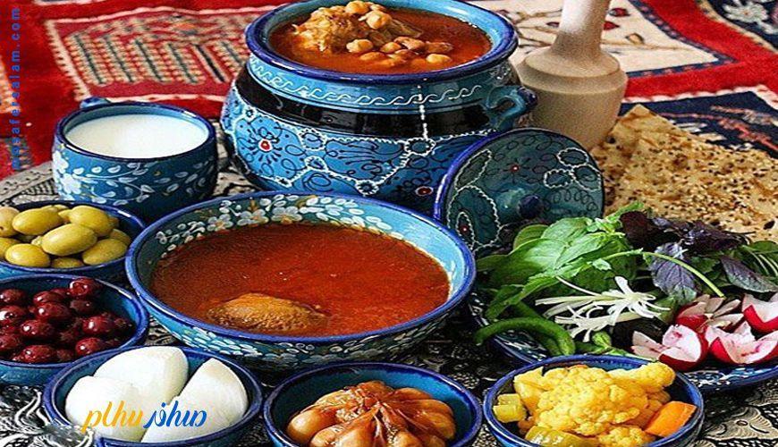 سفره خانه های سنتی در هتل های مشهد