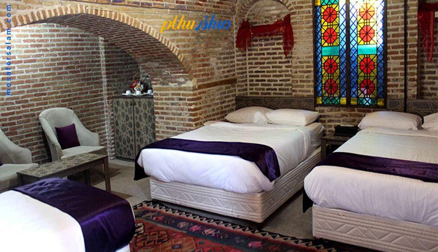 رزرو هتل قزوین