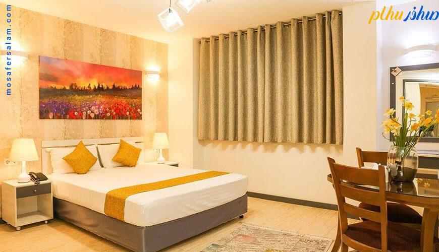 اتاق هتل آفتاب اصفهان