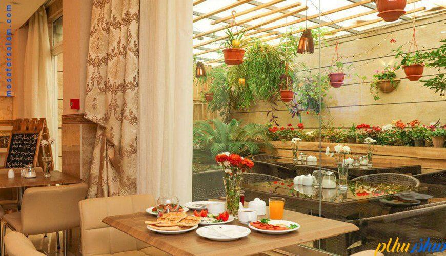 صبحانه هتل آفتاب اصفهان