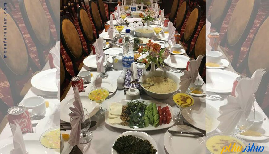 رستوران هتل رفاه مشهد