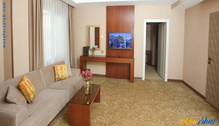 اتاق هتل رفاه مشهد