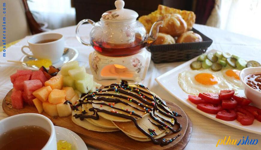 رزرو صبحانه هتل قصر طلایی