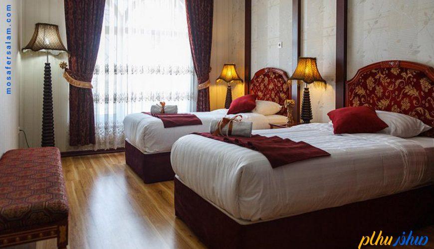 اتاق هتل قصر الضيافه مشهد