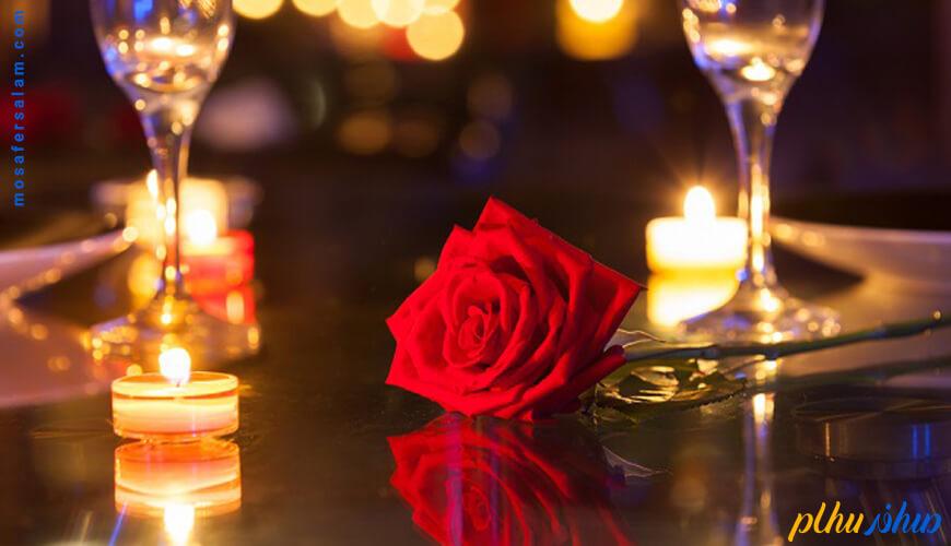 جشن روز ولنتاین رزرو اتاق ماه عسل هتل