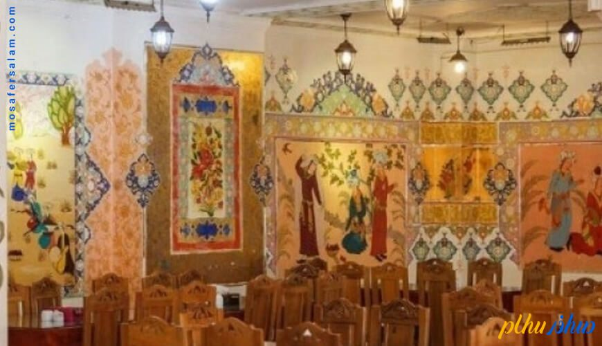 نقاشی های هتل سنتی ابن سینا اصفهان