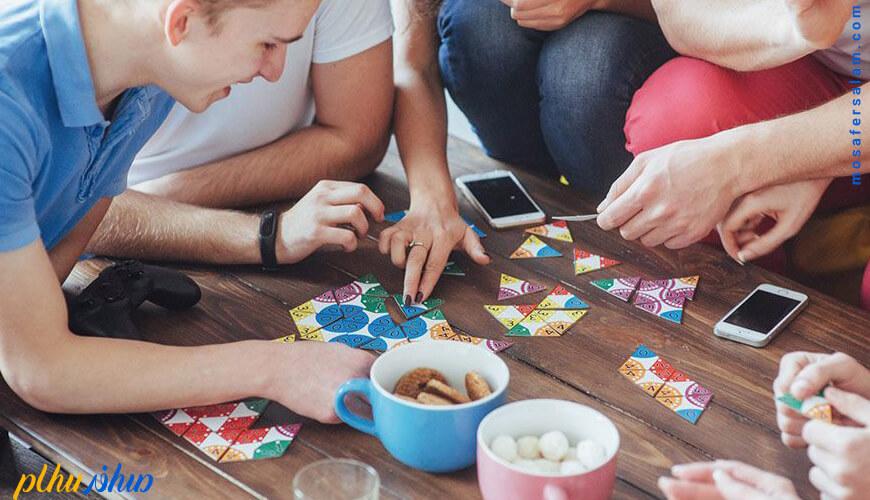 بازی با کودکان در قرنطینه خانگی