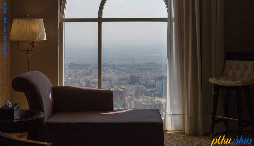 چشم انذاز اتاق هتل اسپیناس پالاس تهران