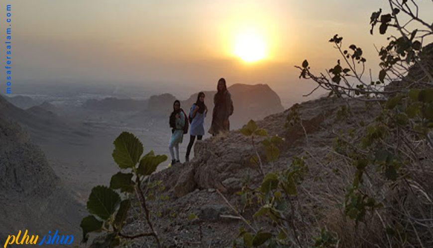 طلوع و غروب کوه صفه اصفهان