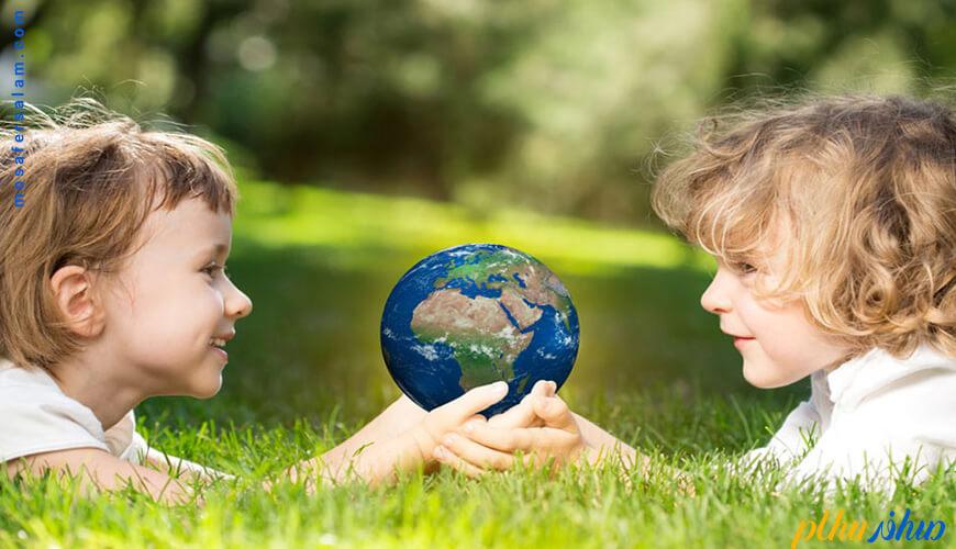 تأثیر سفر بر محیط زیست